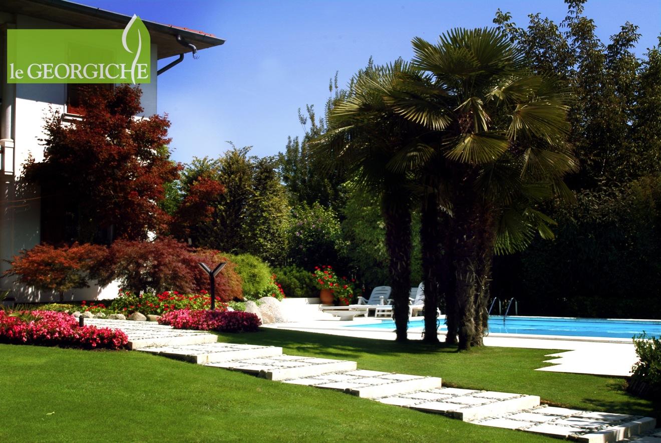 realizzazione giardini privati vivai le georgiche