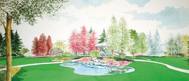 Progettazione giardini brescia realizzazione di aree for Realizzazione giardini privati
