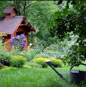 Lavori in giardino a luglio